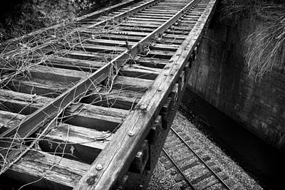 Photograph - Old Tracks Vs New by Patrick M Lynch