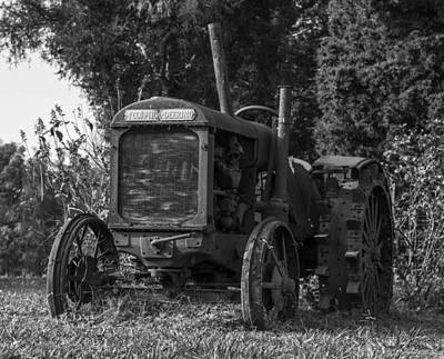 Photograph - Old Tractor by Amber Kresge