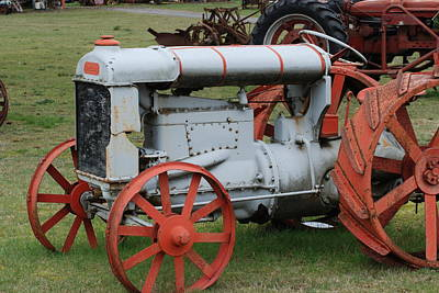 Art Print featuring the photograph Old Tractor by Ron Roberts