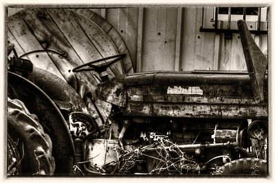 Stellar Interstellar - Old Tractor - Series XV by Doc Braham