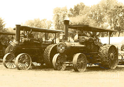 Photograph - Old Tractors by Debbie Hart