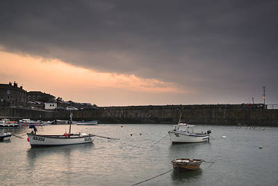 Mousehole Photograph - Old Traditional Cornish Fishing Harbour by Matthew Gibson