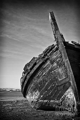 Portugal Photograph - Old Traditional Tagus River Sailboat by Jose Elias - Sofia Pereira