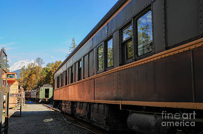 Photograph - Old Train Coach by Malu Couttolenc