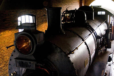 Workshop Photograph - Old Train by Gary Marx