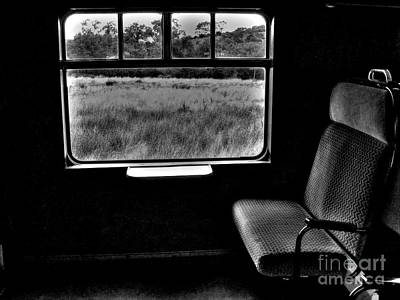Photograph - Old Train Seat by Nina Ficur Feenan