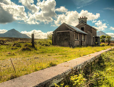 Photograph - Old Train Station by Craig Brown