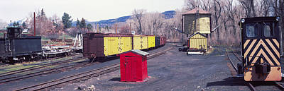 Old Train Terminal, Chama, New Mexico Art Print by Panoramic Images