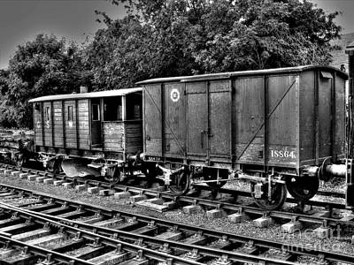 Photograph - Old Train Wagon by Nina Ficur Feenan