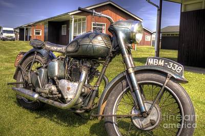 John Mitchell Photograph - Old Triumph by John Mitchell