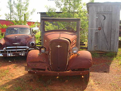 Photograph - Old Truck 2 by Lew Davis