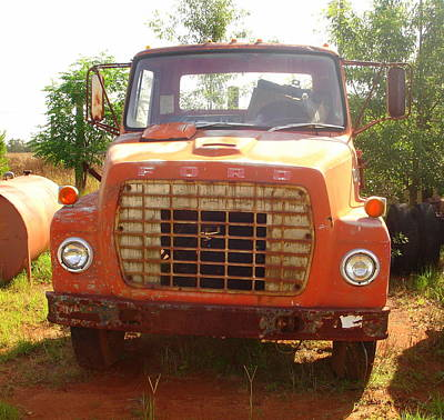 Photograph - Old Truck 5 by Lew Davis
