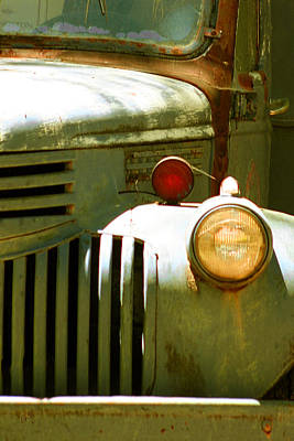 Hoodies Photograph - Old Truck Abstract by Ben and Raisa Gertsberg