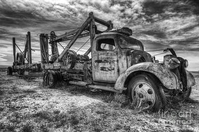 Photograph - Old Truck by Angela Moyer