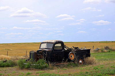 Photograph - Old Truck  by Clarice  Lakota
