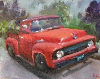 Painting - Old Truck by Lindsay Frost