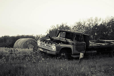 Photograph - Old Truck by Nathan Hillis