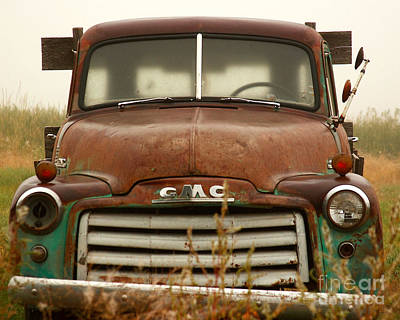Art Print featuring the photograph Old Truck by Steven Reed
