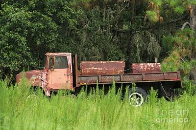Photograph - Old Truck by Theresa Willingham