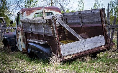 Photograph - Old Truck With Moss by Gerald Murray Photography