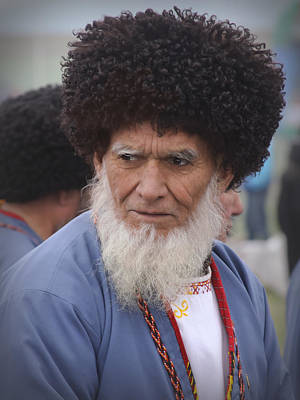 Photograph - Old Turkman by Dave Hall