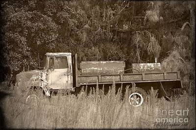 Photograph - Old Tyme Truck by Theresa Willingham