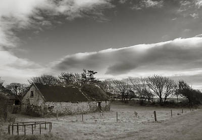 Infra-red Photograph - Old Unused Farm Near Ballyvooney, The by Panoramic Images