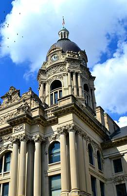 Photograph - Old Vanderburgh County Courthouse by Deena Stoddard
