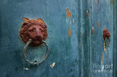 Old Venetian Door Knocker Art Print