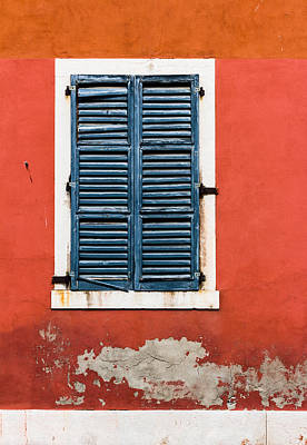 Old Venetian Window Art Print