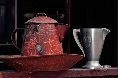 Old Vessels Art Print