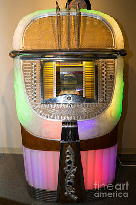 Photograph - Old Vintage Ami Jukebox Dsc2775 by Wingsdomain Art and Photography