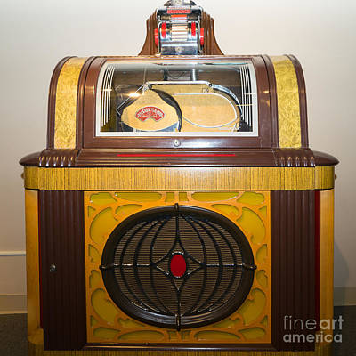 Photograph - Old Vintage Packard Pla-mor Jukebox Dsc2798 by Wingsdomain Art and Photography