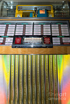 Old Vintage Seeburg Jukebox Dsc2763 Art Print by Wingsdomain Art and Photography