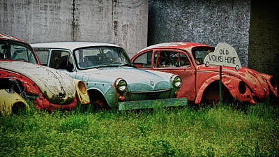 Photograph - Old Volks Home by Trever Miller