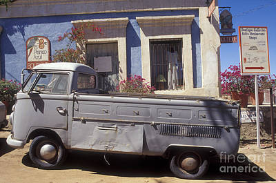 Photograph - Old Vw Truck Todos Santos Baja by John  Mitchell