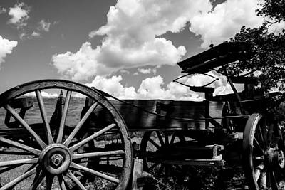Photograph - Old Wagon  by Ben Graham