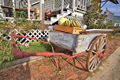 Photograph - Old Wagon by Gordon Elwell