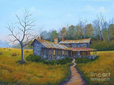 Painting - Old Walker Homestead #2 by Jerry Walker