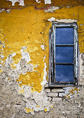 Panes Photograph - Old Wall In Serbia by Elena Elisseeva