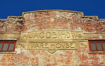 Photograph - Old Brick Warehouse by Bob Sample