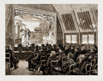 Old Warriors At The Theatre Of Peace, Chelsea Pensioners Art Print by Litz Collection