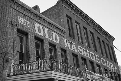 Photograph - Old Washoe Club by David Millenheft