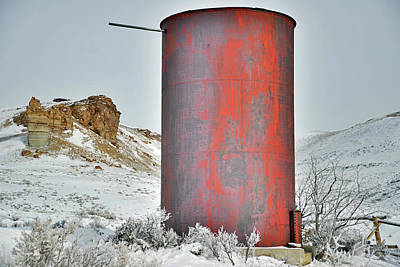 Photograph - Old Water Tower by Eric Nielsen