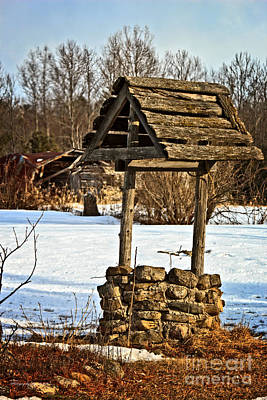 Photograph - Old Water Well by Ms Judi