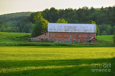Whats Your Sign - Old weathered barn in Stowe VT USA by Don Landwehrle