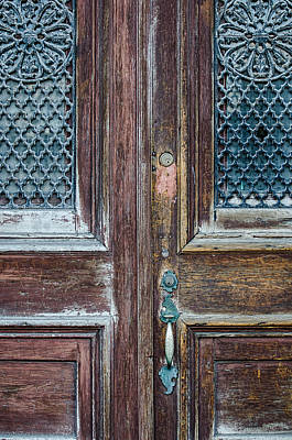 Photograph - Old Weathered Door by Martin New