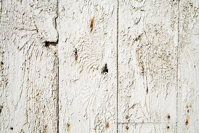 Background And Textures Photograph - Old Weathered Wood by Ken Welsh