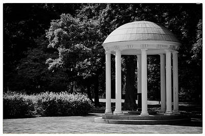 Old Well At Unc Art Print by Georgia Fowler