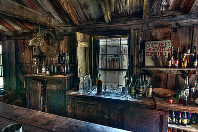 Miners Ghost Photograph - Old West Bar - Criterion Saloon by Daniel Hagerman